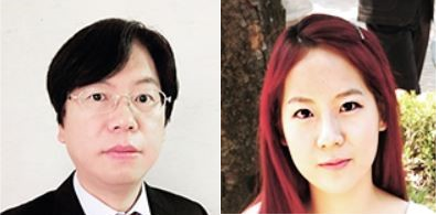 ▲Prof. Hahn Sei-kwang (left) and Keum Do-hee