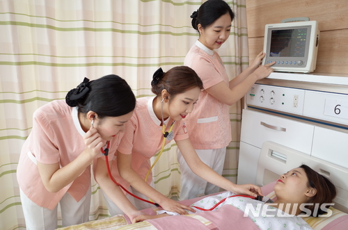 ▲Korea is suffering from chronic shortage of nurses / Newsis