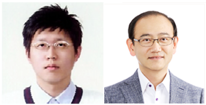 ▲Prof. Rho Jun-seok (left), Kim Wook-sung
