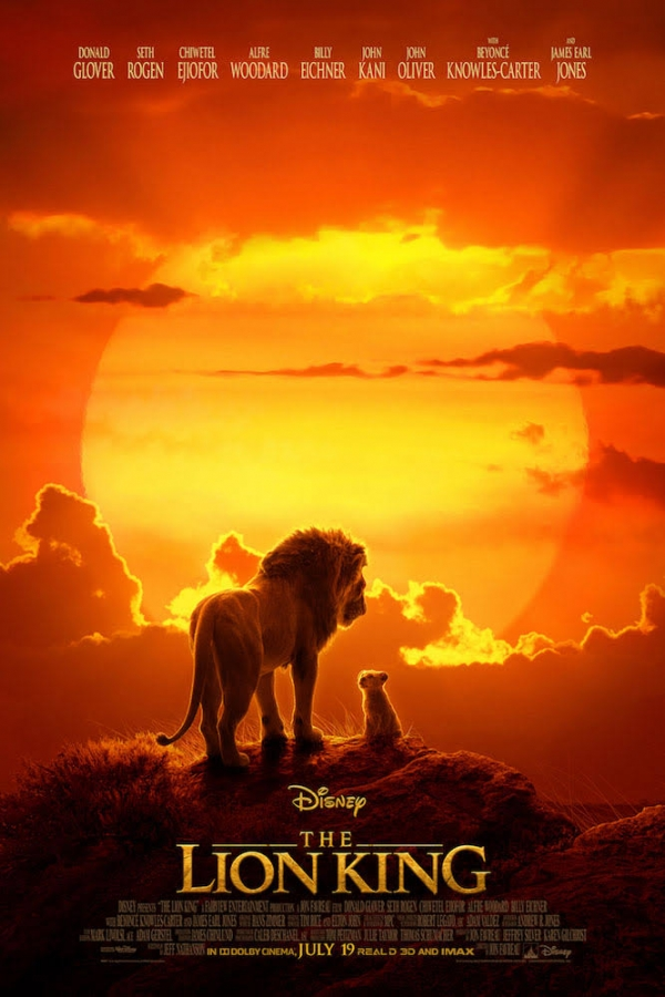 ▲The Lion King (2019)