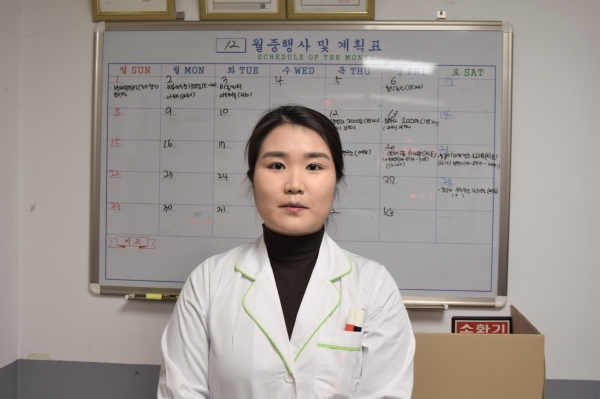 ▲Nutritionist Jo Hyun-young of the Food Services